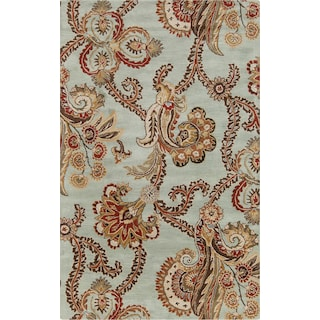 Anna Rug - Green, Brown 5' x 8' Area Rug