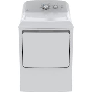 GE 7.2 Cu. Ft. Electric Dryer – GTD40EBMKWW