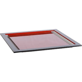 Laura Serving Tray - Red