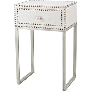 Airita 1 Drawer Accent Table