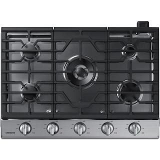 "Samsung 30"" Gas Cooktop with Dual Burner – NA30K6550TS"