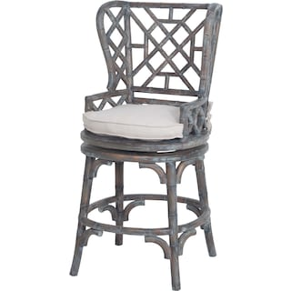 Gabriel Wingback Counter Stool
