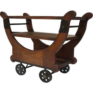 Dante Cross Cocktail Cart