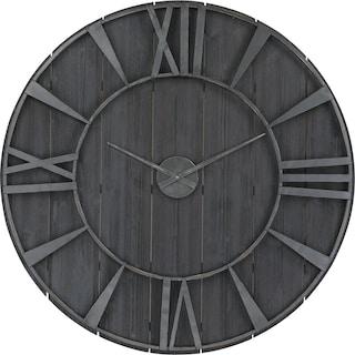 Adrian Wall Clock - Black