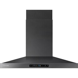 "Samsung 36"" Wall-Mount Range Hood with Bluetooth – NK36K7000WG"