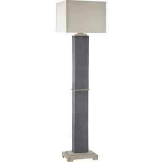 Alfred Indoor / Outdoor  Floor Lamp - Grey