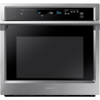 Samsung 5.1 Cu. Ft. Convection Wall Oven with Steam Bake – NV51K6650SS