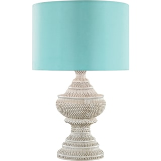 Emily Outdoor Table Lamp - Sea Green