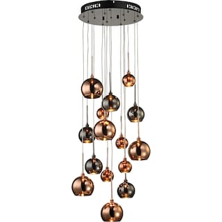 Andreas 15 Light Small Chandelier