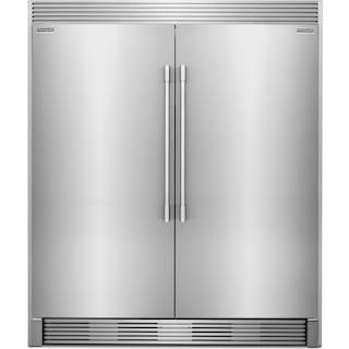 Frigidaire Professional 19 Cu. Ft. Refrigerator, 19 Cu. Ft. Freezer and Trim Kit Package