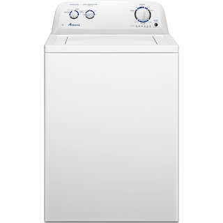 Amana 4.0 Cu. Ft. Top-Load Washer with Dual Action Agitator – NTW4516FW
