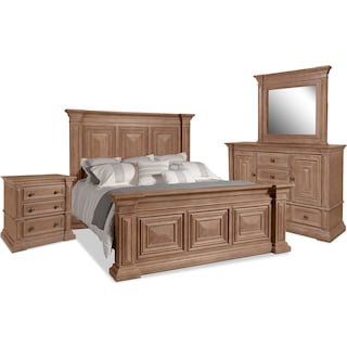 Frosti 6-Piece Queen Bedroom Package