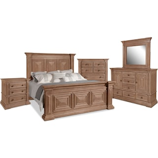 Frosti 7-Piece King Bedroom Package