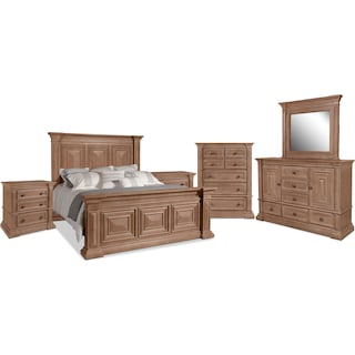 Frosti 8-Piece King Bedroom Package