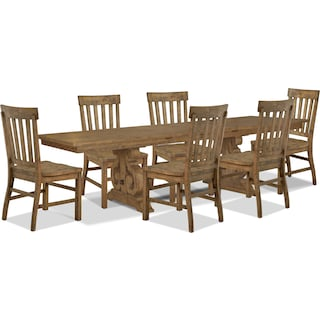 Wildomar 7-Piece Dining Package