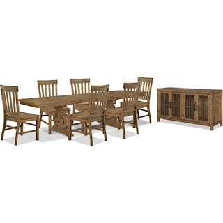 Wildomar 8-Piece Dining Package
