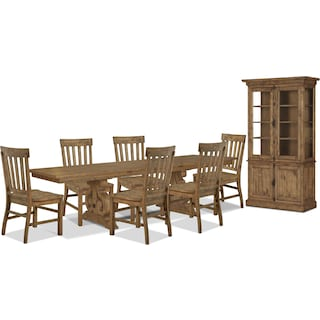 Wildomar 9-Piece Dining Package