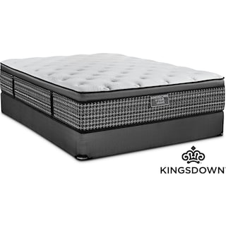 Kingsdown Maxence Cushion Firm Twin Mattress and Boxspring Set