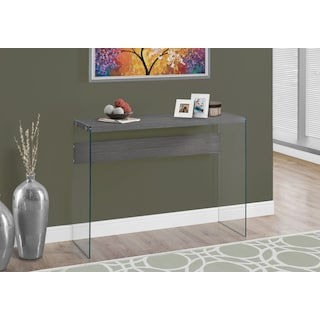 Minerva Sofa Table - Wood-Grain Grey