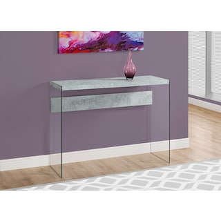 Minerva Sofa Table - Cement