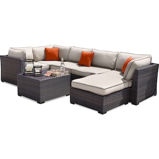 Constanza Patio Sectional Set