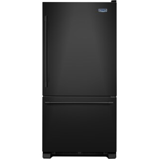 Maytag Black Bottom-Freezer Refrigerator (22.1 Cu. Ft.) - MBF2258FEB