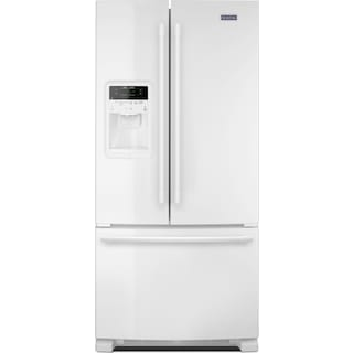 Maytag White French Door Refrigerator (21.7 Cu. Ft.) - MFI2269FRW