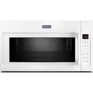 Maytag White Over-The-Range Microwave (2.0 Cu. Ft.) - YMMV4206FW