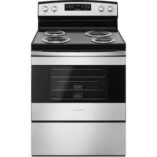 Amana Stainless Steel Freestanding Electric Range (4.8 Cu. Ft.) - YACR4503SFS