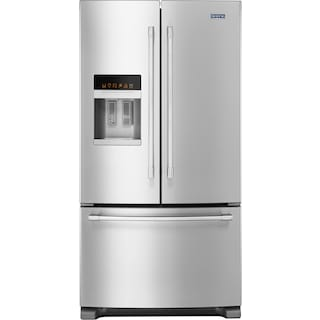 Maytag Stainless Steel Bottom-Mount French Door Refrigerator (25 Cu. Ft.) - MFI2570FEZ