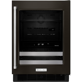 KitchenAid Black Stainless Steel Beverage Centre (4.8 Cu. Ft.) - KUBR304EBS