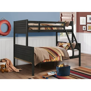Archer Twin over Full Bunk Bed - Grey