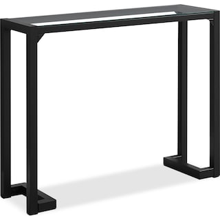 Loïc Console Table – Black