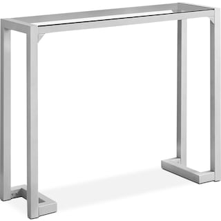 Loïc Console Table – Silver
