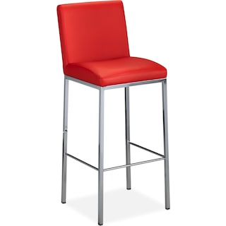 """Glave 29"""" Barstool - Red"""