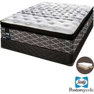 Sealy Wishful Dreams Hybrid Cushion Firm King Mattress and Split Boxspring Set