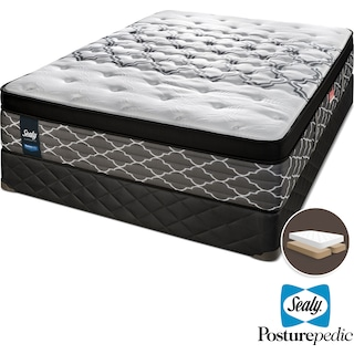 Sealy Sleep Haven Hybrid Firm King Mattress and Split Boxspring Set