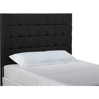 The Willa Collection - King Headboard - Charcoal