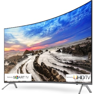 "Samsung 55"" 4K UHD Curved Smart LED TV - UN55MU8500FXZC"