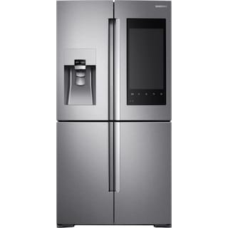 Samsung Stainless Steel 4-Door French Door Refrigerator (27.9 Cu. Ft) - RF28K9580SR/AC
