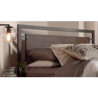 Sidney King Headboard - Barn Grey