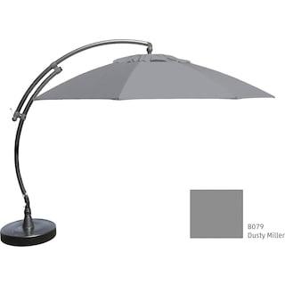 Lantier 13' Curve Parasol - Grey / Grey