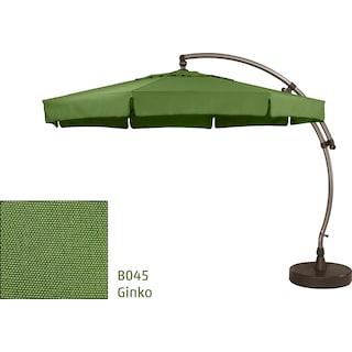 Lantier 11.5' Octagon Parasol - Ginkgo Green / Antique Bronze