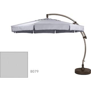 Lantier 11.5' Octagon Parasol - Grey / Antique Bronze