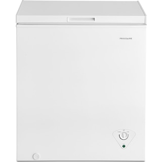 Frigidaire White Chest Freezer (5.0 Cu. Ft.) - FFFC05M1TW