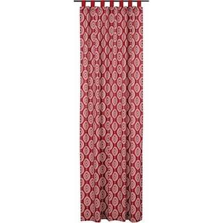 Margot Crimson Tab Top Panel - 108 x 50