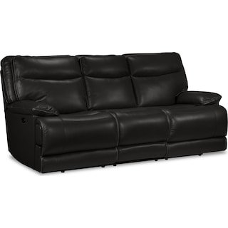 Oranmore Power Reclining Sofa - Black