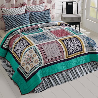 Solène Queen Set - 1 Quilt & 2 Shams