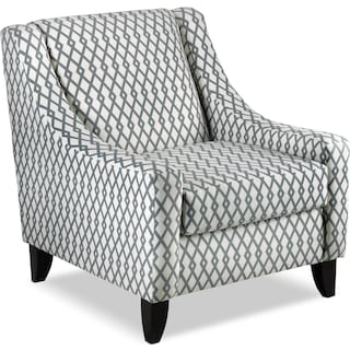 Patricia Accent Chair - Grey