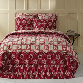 Margot Crimson Queen Quilt